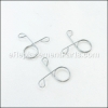 Weber Ash Catcher Clips part number: 60701