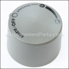 Weber Control Knob - Grey part number: 30125801