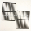 Weber Porcelain Enamelled Cast Iron Grates 11-1/4 in. x 14-3/4 in. part number: 65934