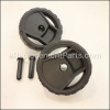 Karcher Wheel Set Replacement part number: 9.755-077.0