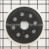 Bosch Hook and Loop Rubber Backing Pad part number: 2609100541