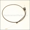 Craftsman Engine Zone-Control Cable part number: 582991501