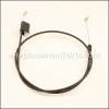 Husqvarna Control Cable part number: 532415350