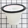 Black and Decker Filter Assembly part number: 90543043-01
