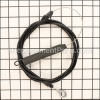 Craftsman Mower Blade Brake Clutch Cable part number: 532435111