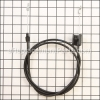 Craftsman Lawn Mower Throttle Cable part number: 532168552