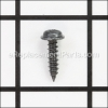 Tapping Screw (W/Flange) D4X16 (Black)