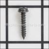 Tapping Screw (W/Flange) D4X20 (Black)