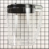 Mr. Coffee Pitcher W/Lid Assy part number: 160767-000-000