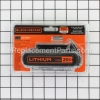 Black and Decker Battery part number: LBXR20