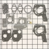 Briggs and Stratton Carburetor Overhaul Kit part number: 495606