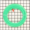 ".080"" Square Trimmer Line -  163'x1 Donut"