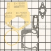 Ryobi Engine Gasket Kit part number: 753-04134