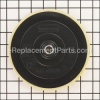 "7"" x 5/8""-11 Hook and Loop Backing Pad"