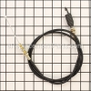 MTD Clutch Control Cable 46&#34 Lg. part number: 946-0908