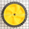 MTD Front Wheel (Yellow) part number: 634-04100A