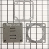 Campbell Hausfeld Valve Plate Assembly part number: DP400064AV