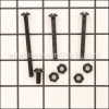 Dirt Devil Handle Screw Assembly part number: RO-700670