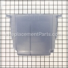 Hoover Recovery Tank With Duct Assembly - Frost Translucent part number: H-38777106