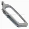 Hoover Upper Handle Lever Guard-Magsm Gray part number: H-90001230