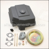 Kohler Kit, Air Cleaner Cover W/Deflector part number: 1275584-S