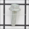 Kohler Screw, Hex. Flange Thread Forming M6X1.0X20 part number: 25086396-S