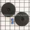 Electrolux Wheel - Rear part number: 61875-1