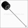 Eureka Rear Wheel & Axle Assembl part number: E-70026