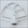KitchenAid Beater, Flat part number: WPW10672616