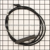 Husqvarna Manual Clutch Cable With Spring part number: 532435110