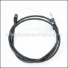 Husqvarna Engine Zone Control Cable part number: 532130861