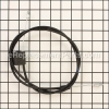 Husqvarna Engine Zone Control Cable part number: 532176556