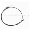 Husqvarna Engine Zone Control Cable part number: 532191221