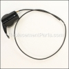 Husqvarna Cable, Throttle Bbc part number: 539113113