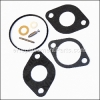 Briggs and Stratton Carburetor Overhaul Kit part number: 801427