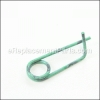 Weed Eater Clip, Retainer Spring part number: 532428045