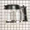 DeLonghi Glass Carafe, 12-Cup part number: SX1037