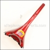 Bissell Handle Assy-Tango Red Metallic part number: B-203-6600