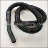 "Flexible Hose, 60"", Black, Friction Fit"