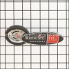 Char-Broil Logo - Temperature Gauge Red Revised part number: G517-8800-W1