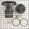 Zodiac Impeller/Diffuser, Screw W/ O-Ring, Mhpm part number: R0449504