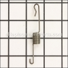 Weed Eater Muffler Attachment Spring part number: 530036409