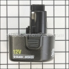 Black and Decker 12V Battery (Saber Type) part number: PS130
