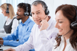 Agents in call center